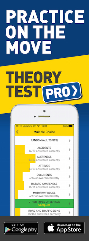 Theory Test Pro in partnership with ED'S DRIVING SCHOOL